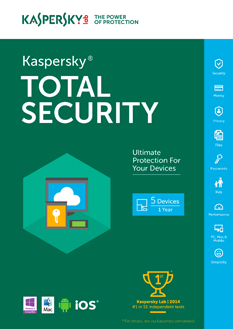 Kaspersky Total Security Multi-Device 2017