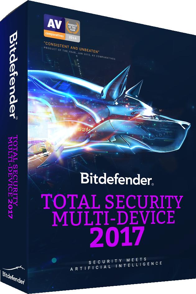 Resultado de imagen de bitdefender total security 2017