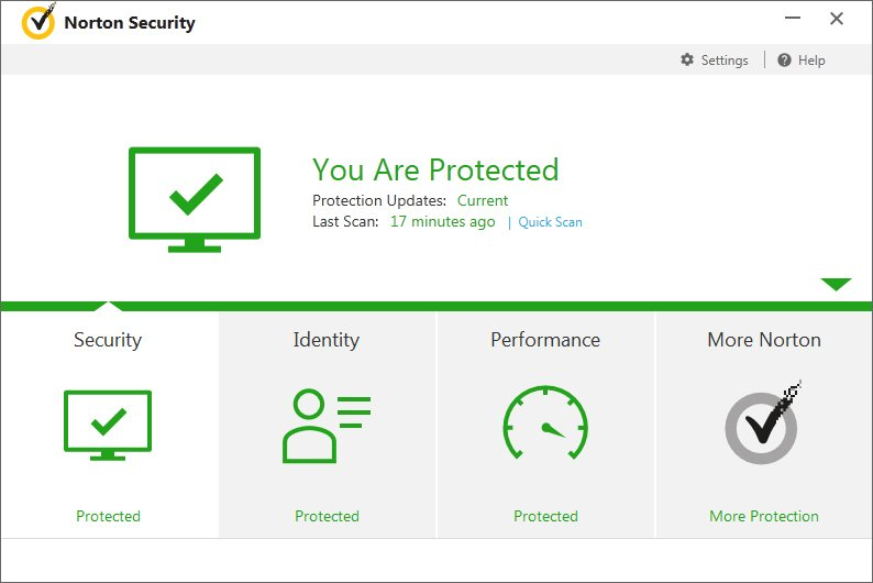 Classifica Antivirus Norton