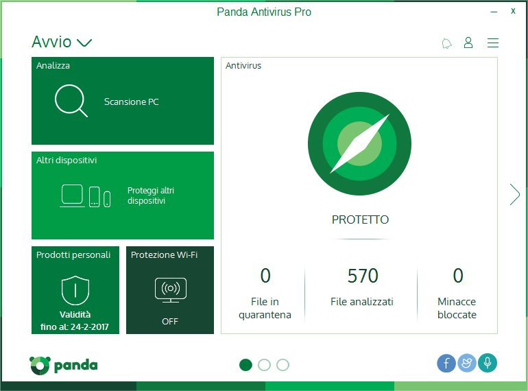 Panda Classifica Antivirus 2017