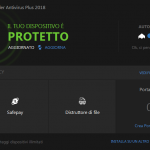 Bitdefender Antivirus Plus 2018 privacy protetto