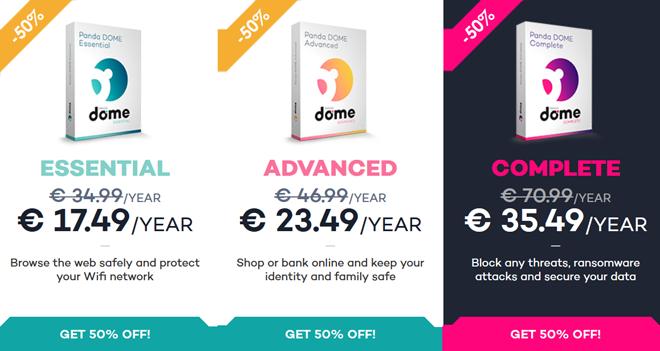 Panda Dome 2018 Discount